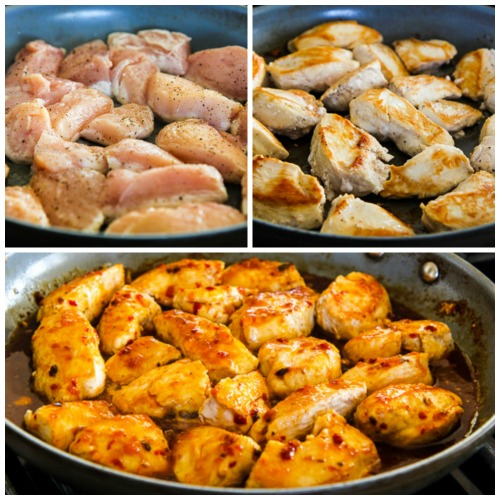 Easy spicy asian chicken video kalyns kitchen easy spicy asian chicken found on kalynskitchen forumfinder Choice Image