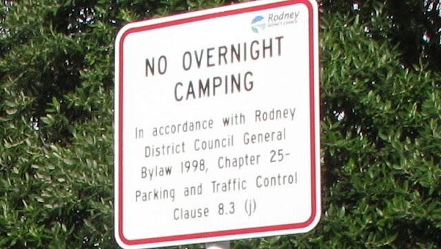 Langt fra alle steder er Freedom Camping tilladt.