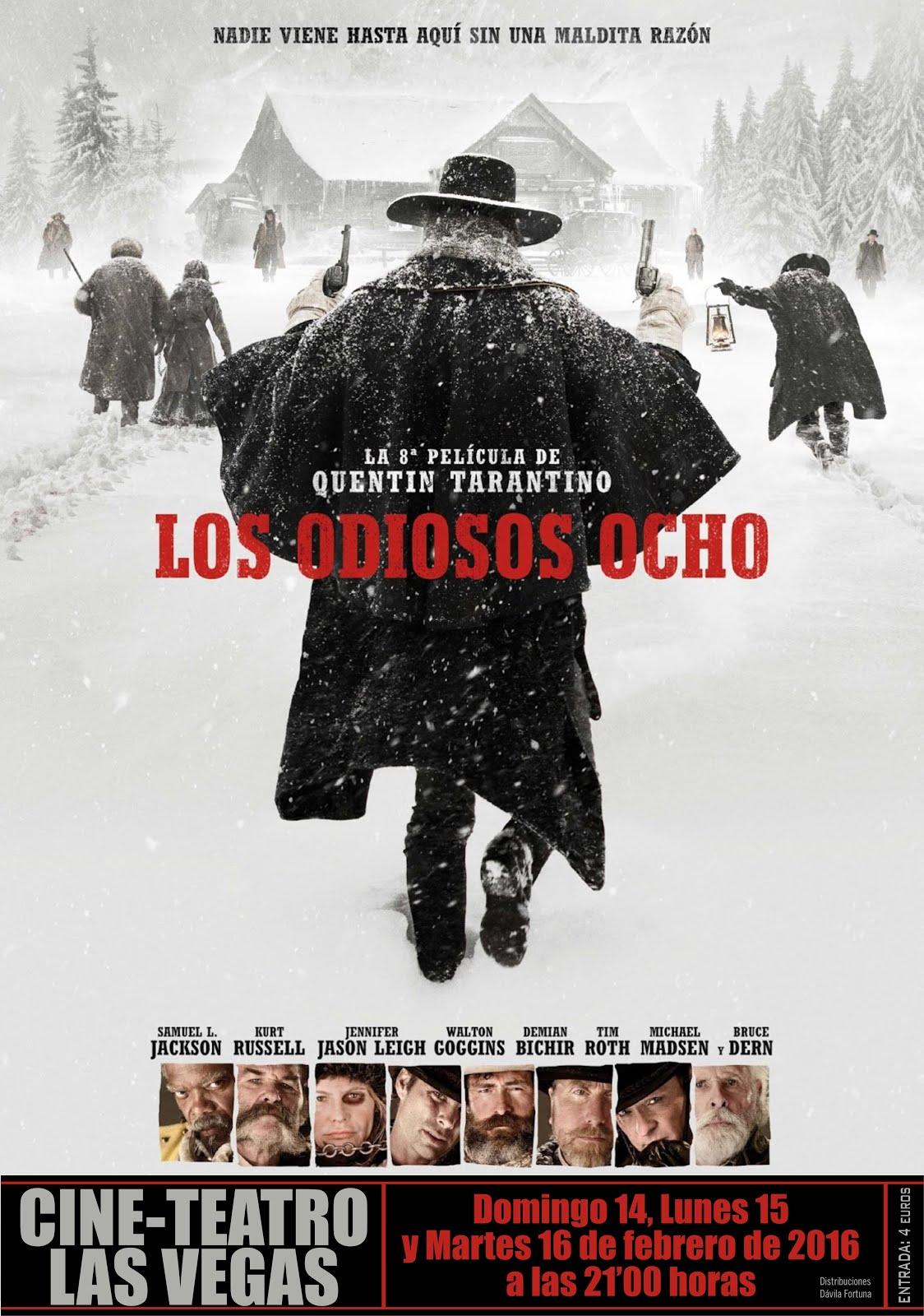 Cine: Los odiosos ocho
