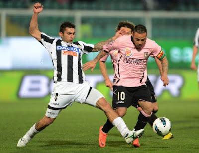 Palermo Udinese 1-1 highlights sky