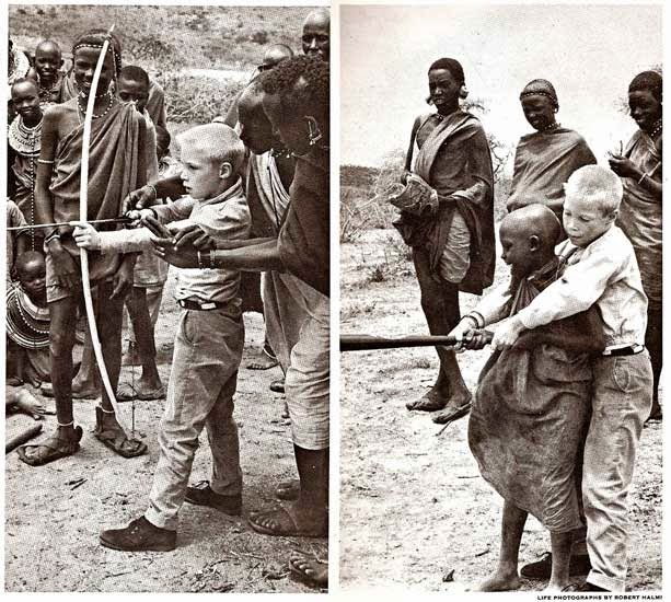 Two-boys-in-Kenya-making-a-trade-1962