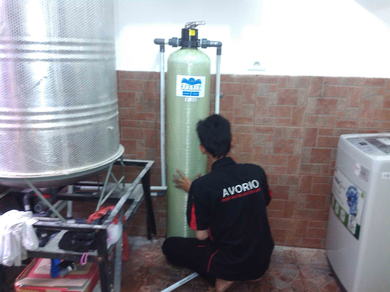 filter air fiber, harga jual murah, bergaransi, kualitas ok, air tanah sumur bor