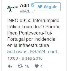 """Para Adif un accidente con muertos y heridos es """"una incidencia en la infraestructura"""""""