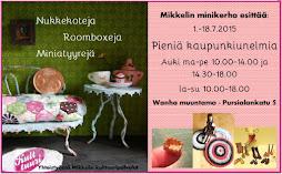 Nukkekotinäyttely Mikkelissä