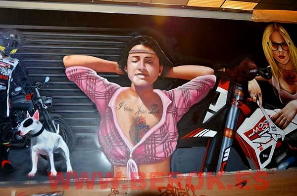Graffiti de novia de Torrecillas
