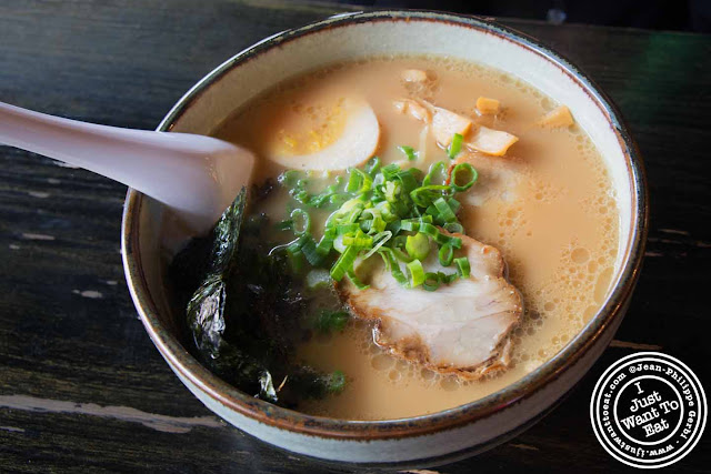 Image of Shoyu ramen at East Noodle and Izakaya in the East Village NYC, New York