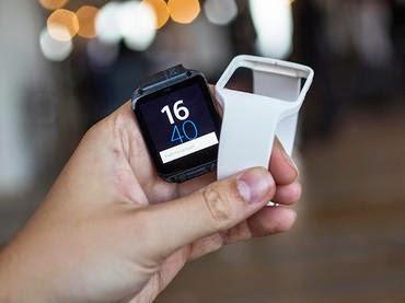 El rellotge e-paper