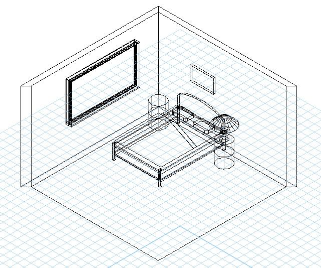 Bed Vectorworks : bedframe from pixelrz.com size 641 x 534 jpeg 177kB