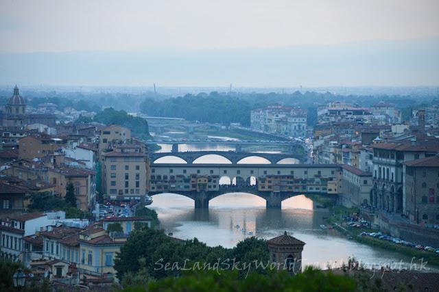 米開朗琪羅廣場, Piazzale Michelangelo