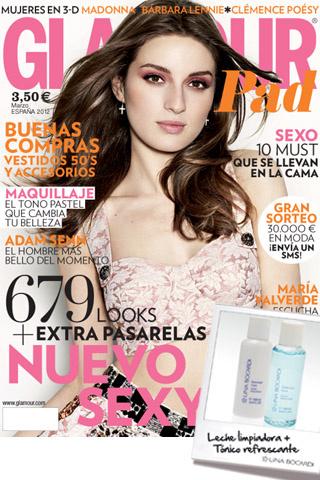 Glamour, portada, marzo, 2012, sexy, maquillaje, compras, sexo