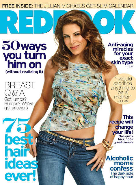 Jillian Michaels on the cover of Redbook