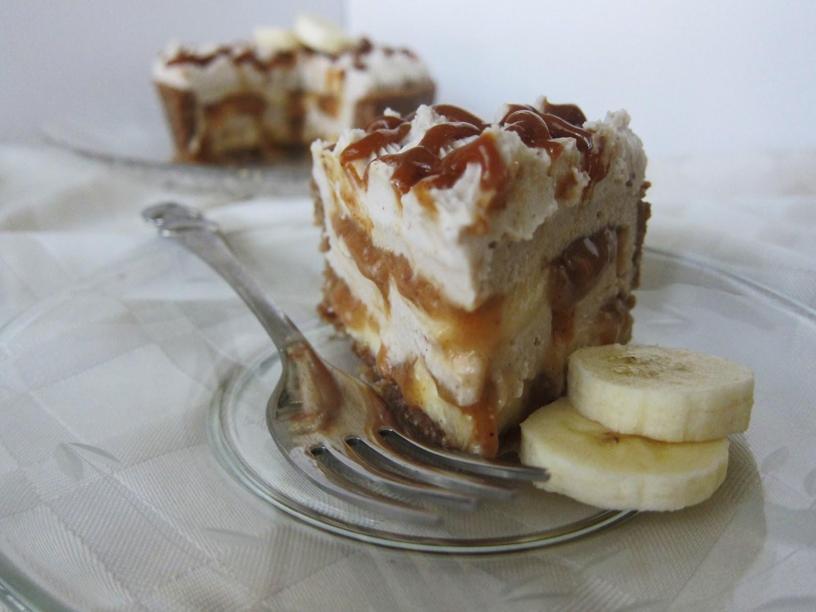 Banana Cream Pie Blizzard Mini raw banana caramel cream