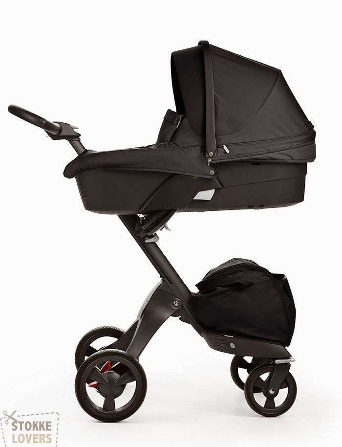 True Black Xplory carrycot