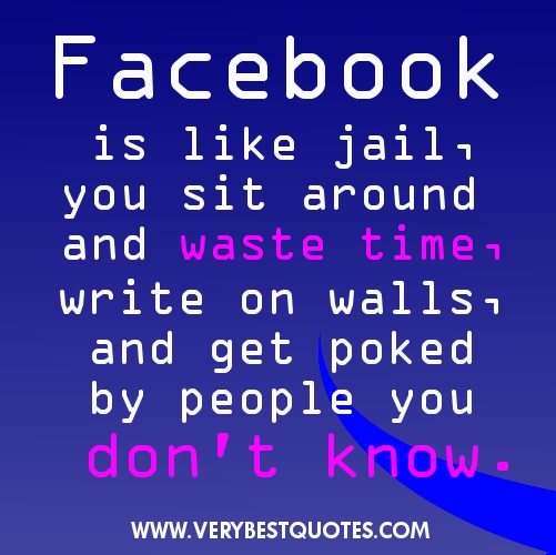 image caption: Funny-Facebook-Status-Quotes-Sayings-Facebook-is-like ...