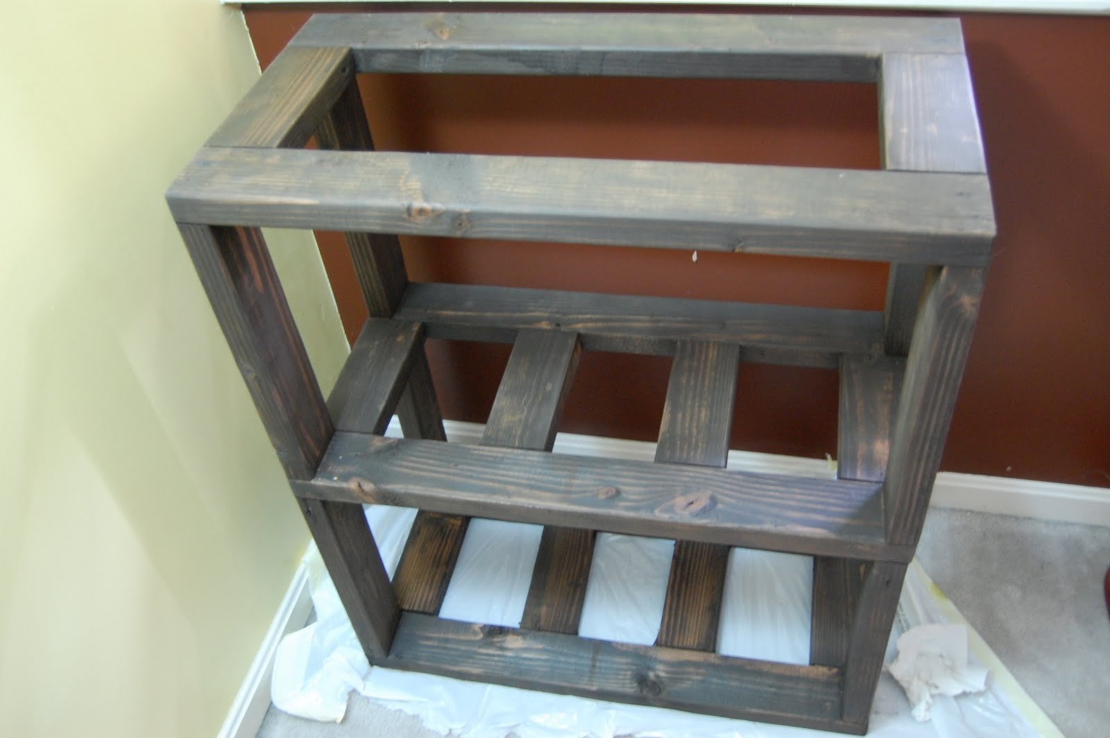 I Next Checked The Stand For Level In All Directions Either Due To Floor Or A Flaw My Craftsmanship Had Very Slight Tendency Lean