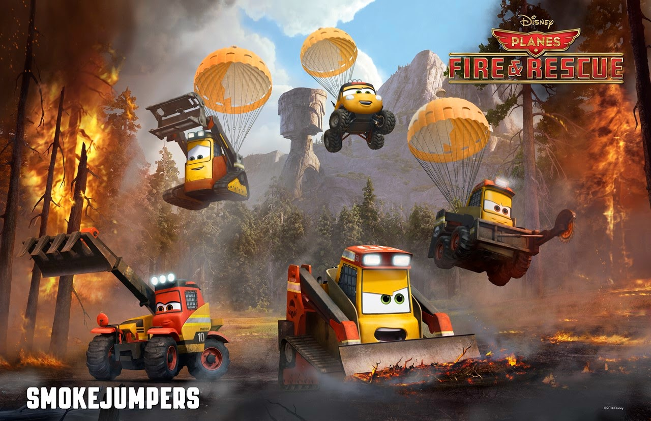 PLanes 2 smokejumpers wallpaper