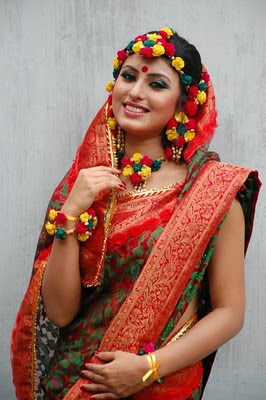 Bangladeshi Beautiful Model Shokh with Shari photo collection