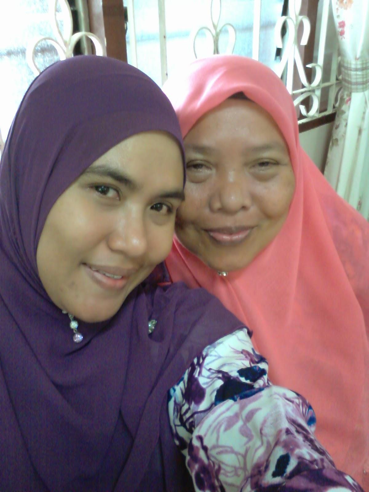 My mum n I