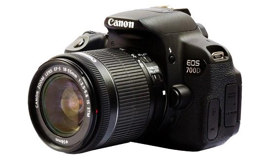 Daftar Harga Kamera DSLR Canon EOS 700D dan Spesifikasi Lengkap Baru