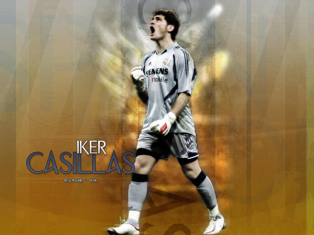 Iker Casillas Football Star HD Wallpapers 2012