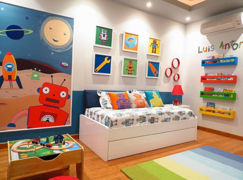 Model-Rooms-Children-Bedroom-Minimalist-Furniture-Children