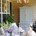 Color on the Porch Part II (The Blue Armoire)