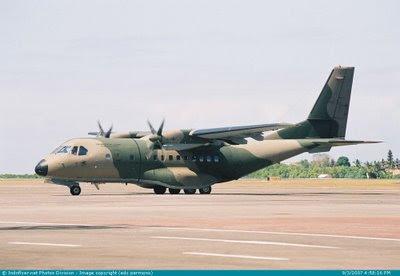 Pesawat CN-235 Produksi PT Dirgantara Indonesia