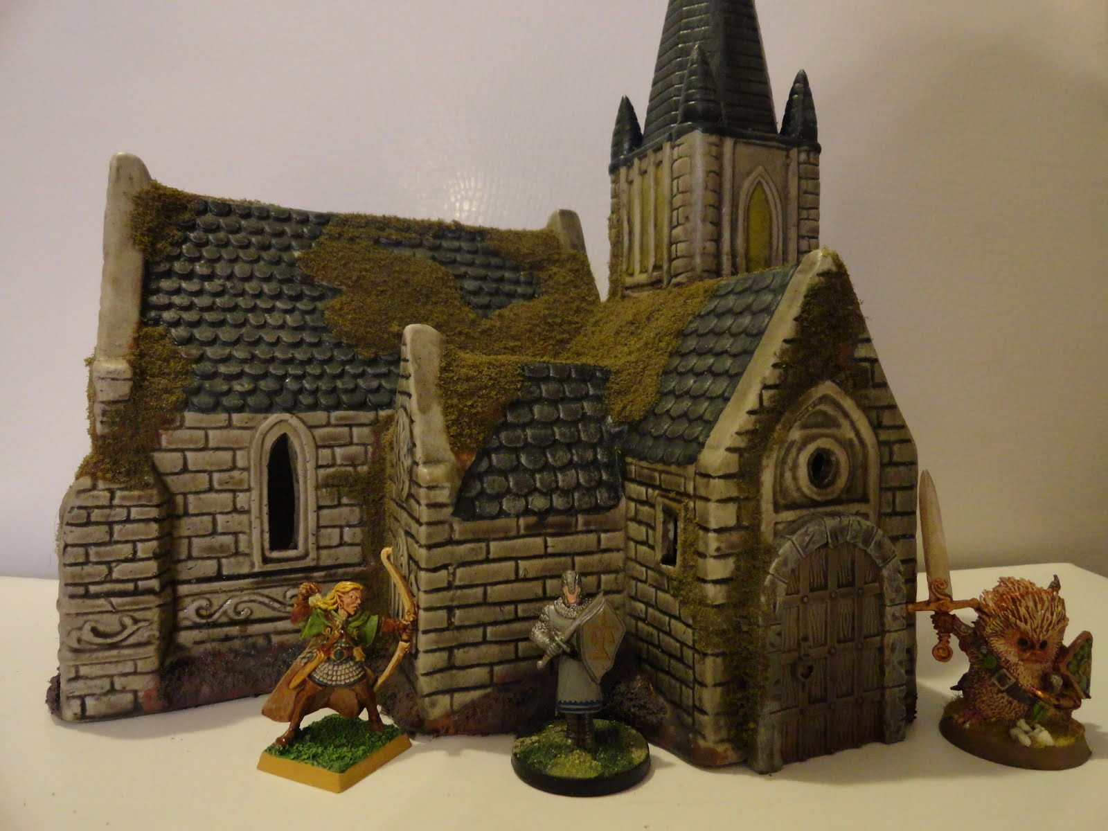 Building Mm Scale Model Buildings Using Card Forums