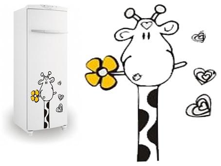 Трафарет холодильника своими руками