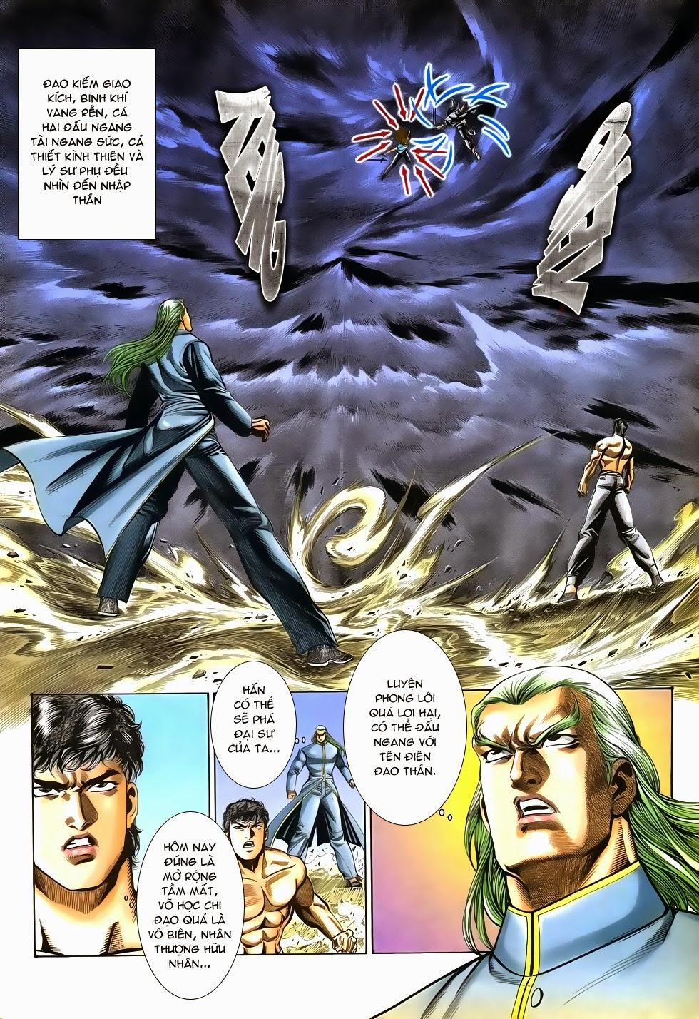 Long Hổ Phong Bạo chap 9 - Trang 24