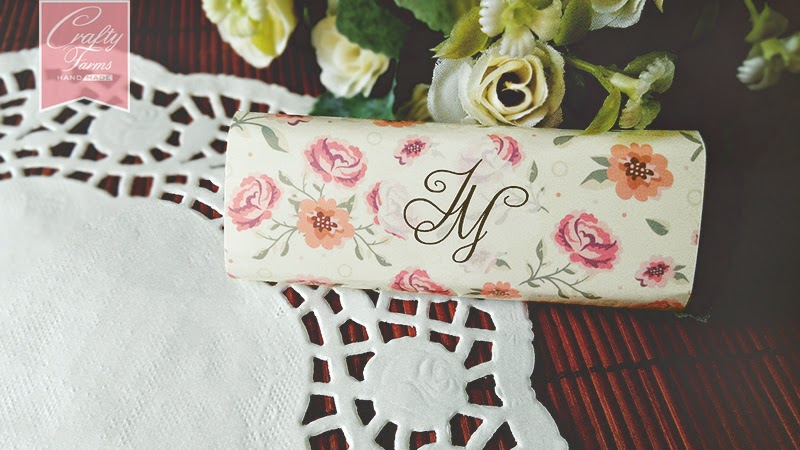 Personalized Vintage Monogram Chocolate Wedding Favour Malaysia