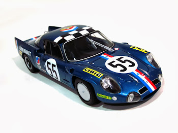 Alpine-Renault A210 #55 [J.P Nicolas & J.C. Andruet]  '68 - Otto Mobi