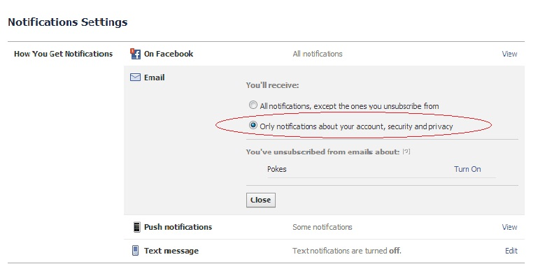 how to change ur email on facebook