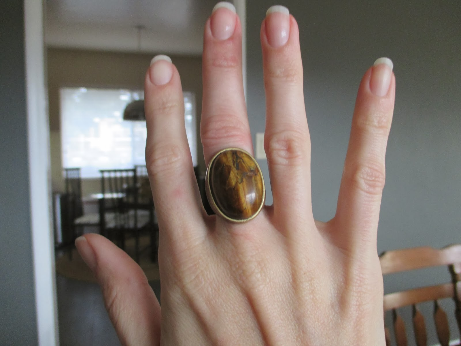 Back In The Day, I Wore Her On My Left Hand (which Is Slimmer Than My Right)  But The Old Ball And Chain Ring Goes On That Hand Now,