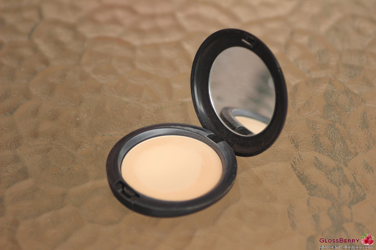 מייקאפ מאק פודרה mac careblend powder makeup foundation review סקירה עור יבש