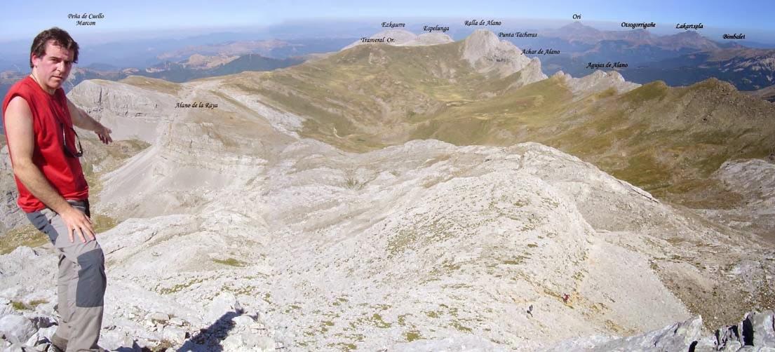 Vistas desde la cresta oeste de Peña Forca