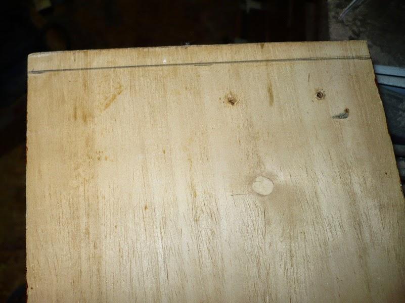 Como hacer una caja de cortinas con madera reciclada y reutilizada, cajeado
