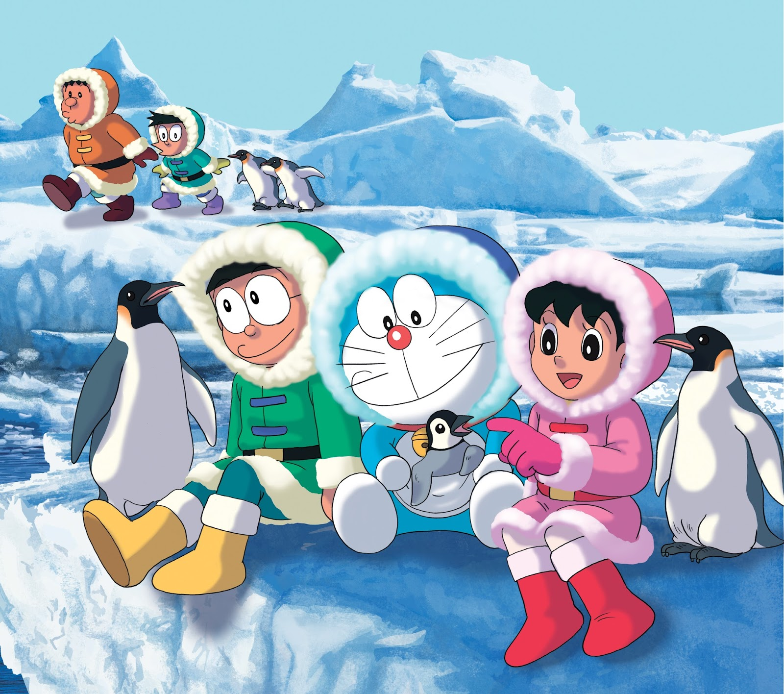 Doraemon cartoon Wallpapers Free by