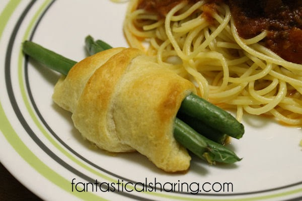 Gouda & Green Bean Crescent Rolls | Fantastical Sharing of Recipes