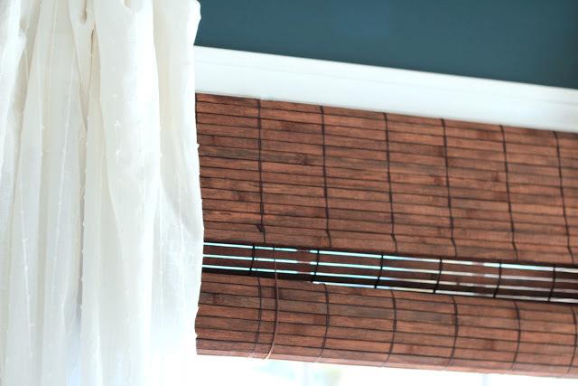 shine your light bamboo blinds roman vs roll up. Black Bedroom Furniture Sets. Home Design Ideas
