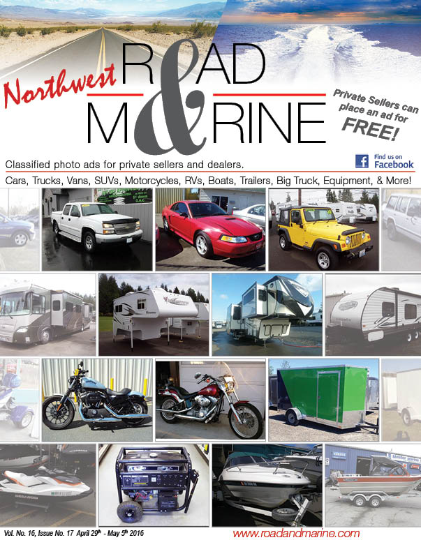 "The ""New"" NW Road & Marine Magazine is Here!! Check it Out 100+ Pages!!"