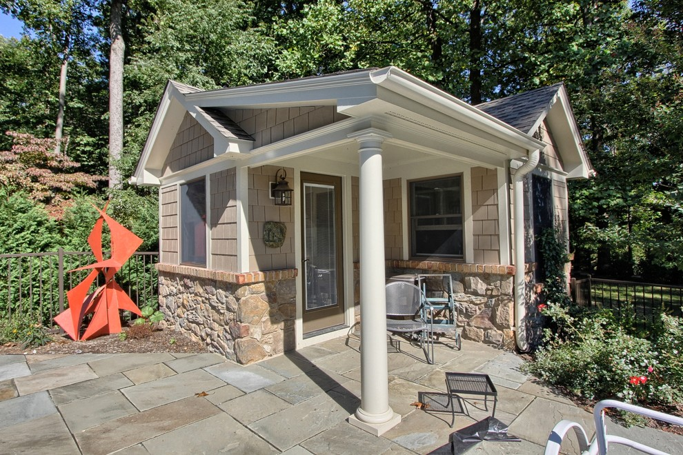 Shedworking shed and garden office insurance latest figures for Small backyard guest house plans