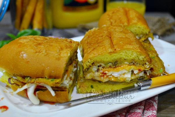 Ilham Dapur: Roti John Cheese