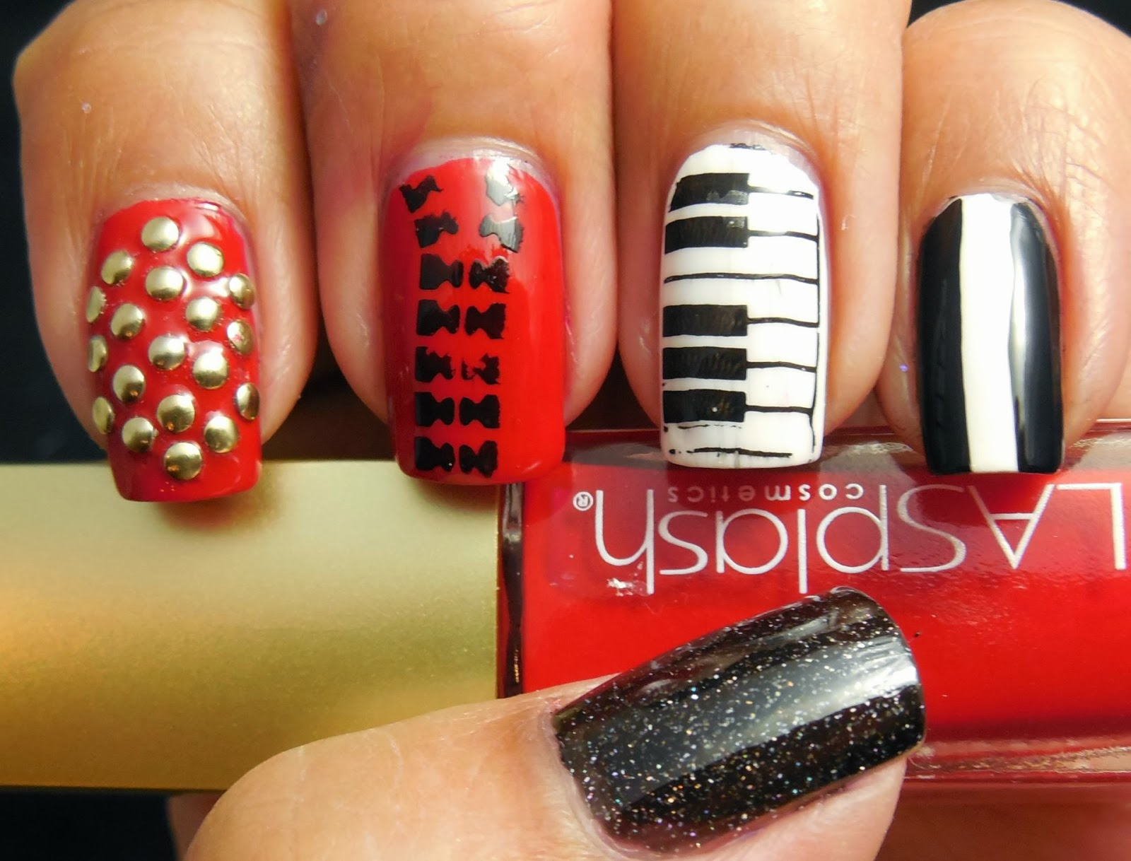 Prettytoughnails 31dc2013 Inspired By A Song Michael