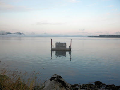 photo of porta-potty in Tillamook Bay Oregon