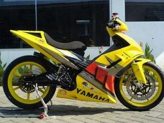 Modifikasi Jupiter MX Racing