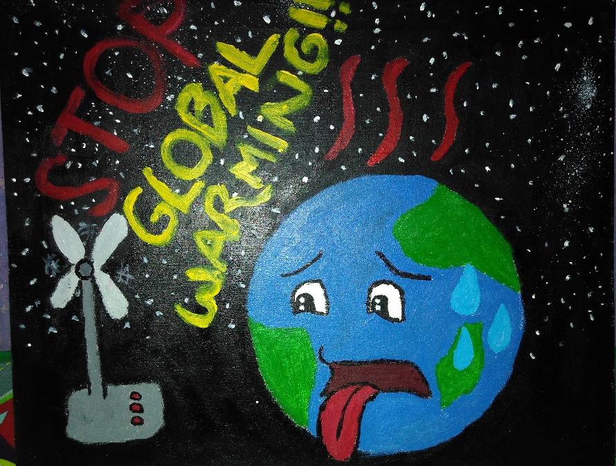 Online Art Collection Etha Oktavia Global Warming