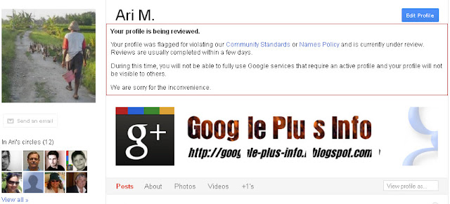 Google+ Suspended: Reviewed