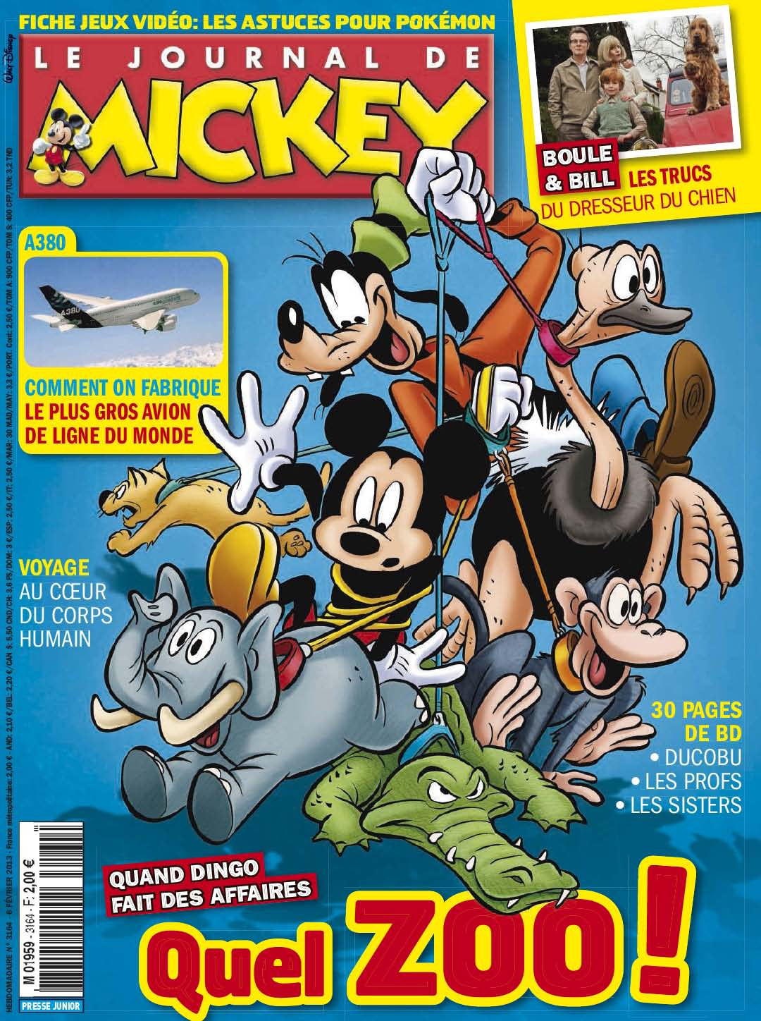 le journal de mickey journal de mickey 3164. Black Bedroom Furniture Sets. Home Design Ideas