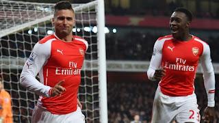 Arsenal 2 - 0 Middlesbrough